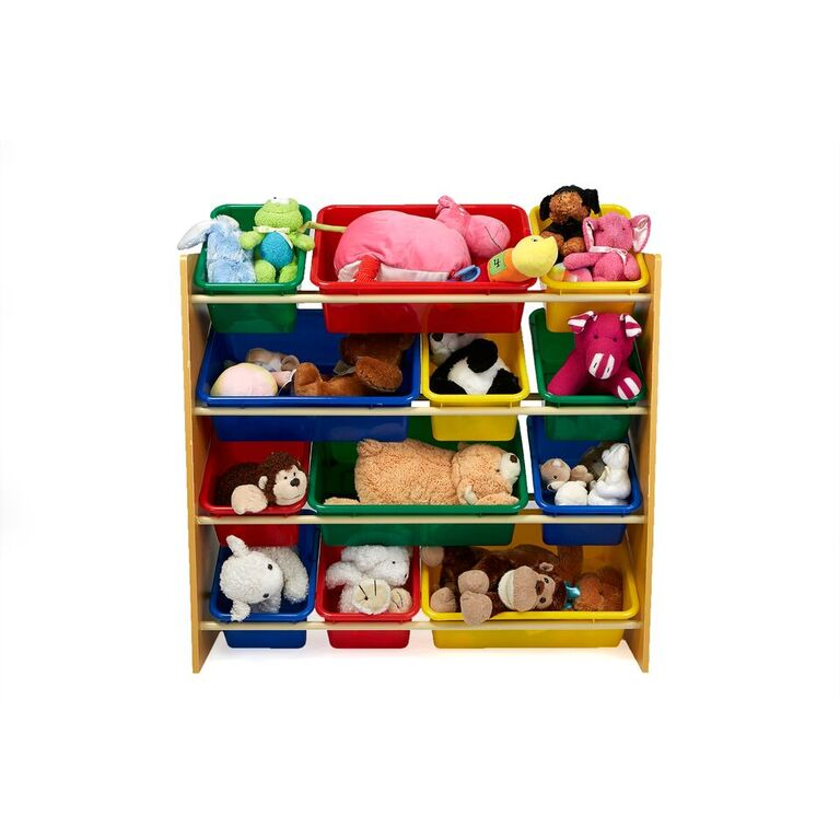 Toy Storage Organizer with 12 Storage Bins, Kids Storage for Bedroom
