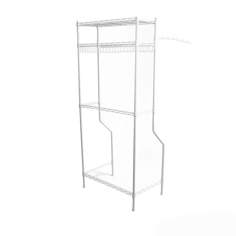 Laundry Storage Shelf, Space Saver Cabinet for Office