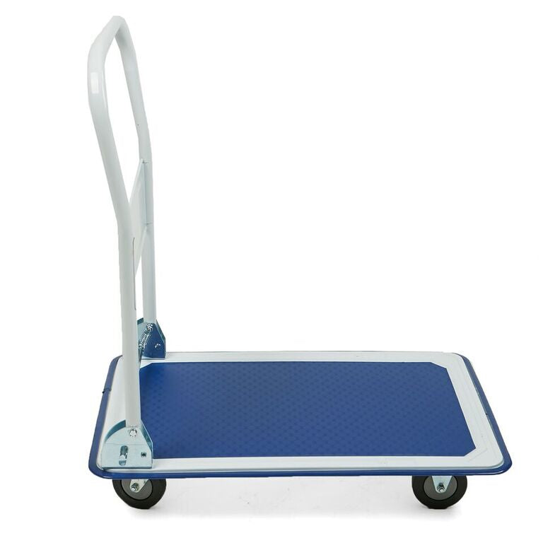 Foldable Push Cart Pallet Roller Dolly with Front Swivel Wheels