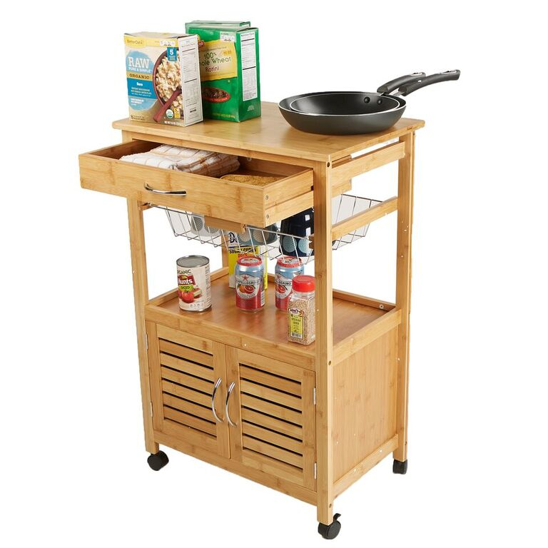 3 Tier Kitchen Cart, Utility Organizer Rack