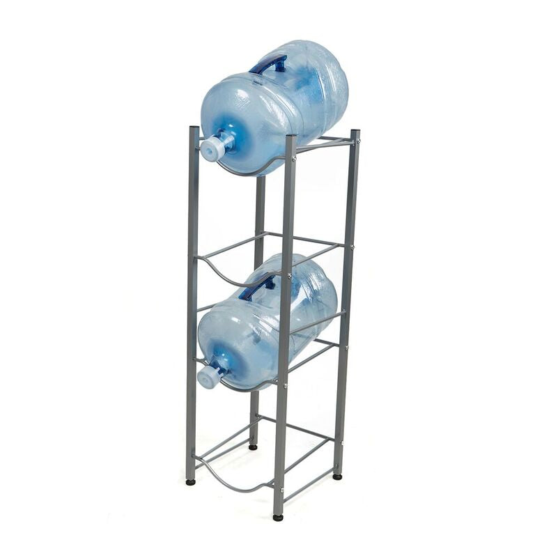 4 Tier Stainless Steel Heavy Duty Water Cooler Jug Rack