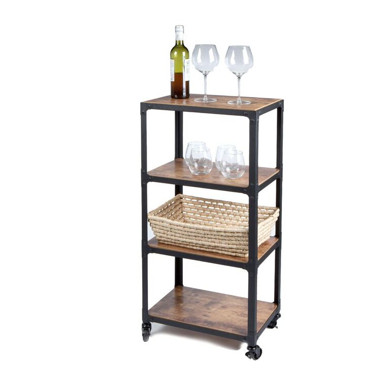 4 Tier All Purpose Utility Cart