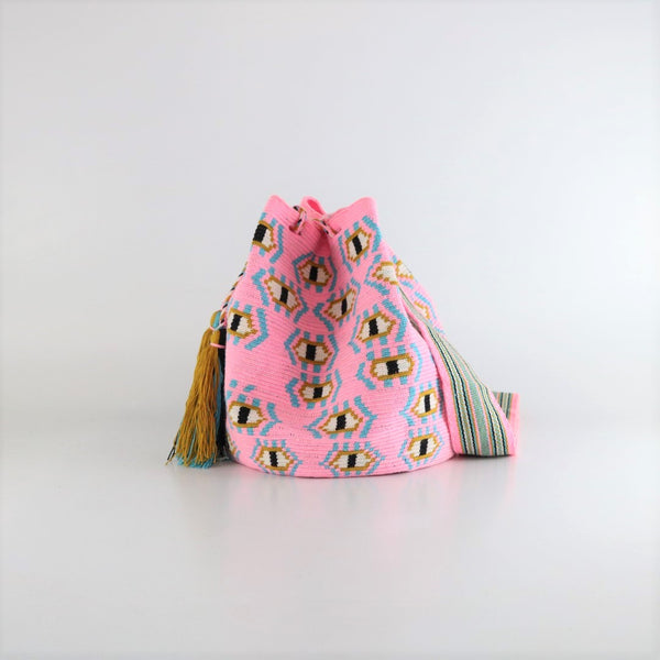 Flamenco S Wayuu Bag - Single Thread - wayuu-dreaming