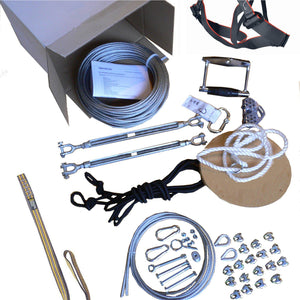 Zipline kit 75 m - Goldv
