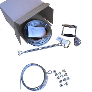 Zipline kit 30 m - White