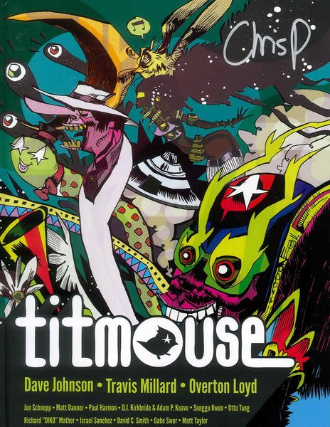 Titmouse Mook Volume 2 - Signed by Chris Prynoski