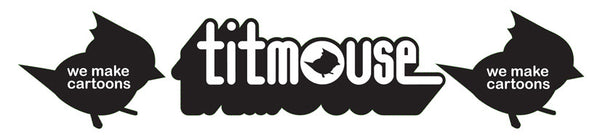 Titmouse Logo 3-Part Bumper Sticker!