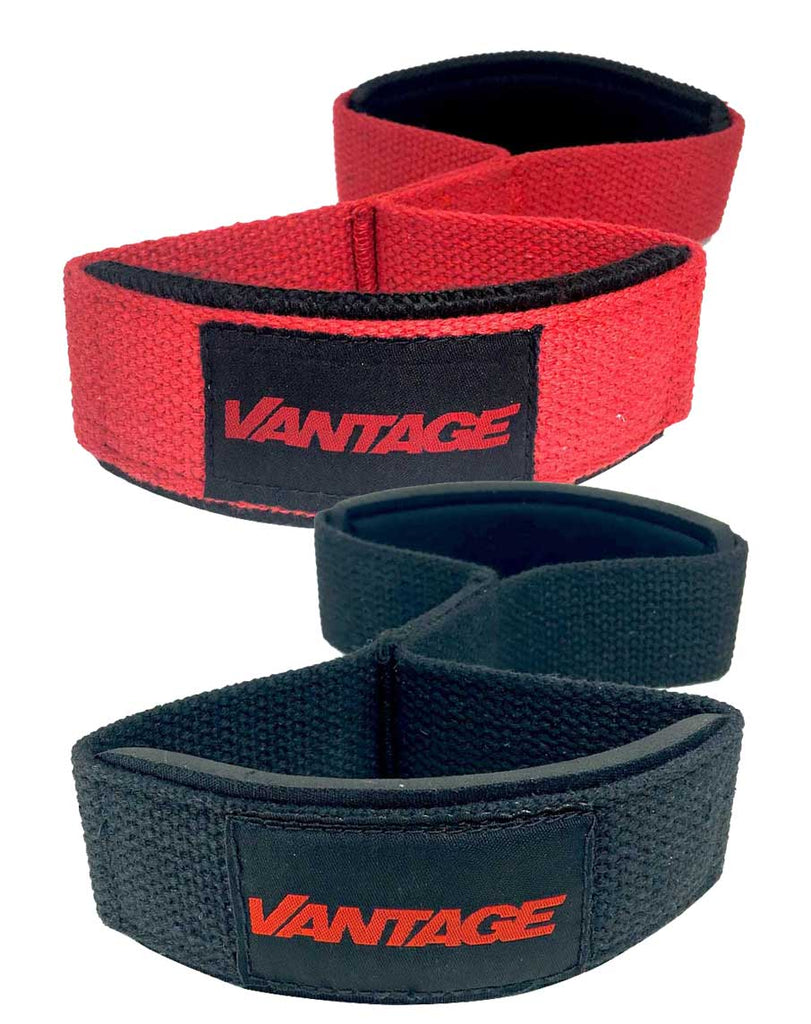 Double Loop Lifting Straps by Vantage Strength Accessories