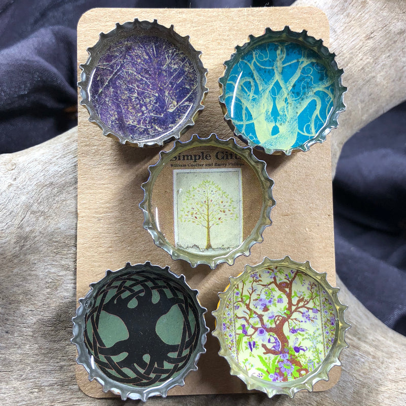 Tree Magnet Set