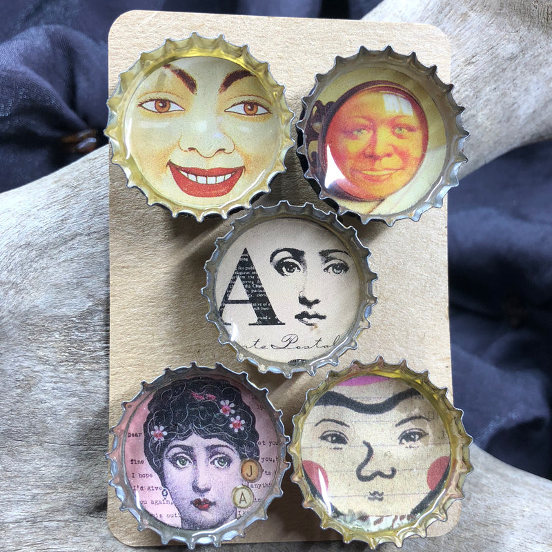 Faces Magnet Set