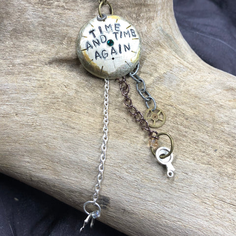 """Make Time"" Necklace"