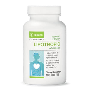Lipotropic Adjunct 180 Tablets