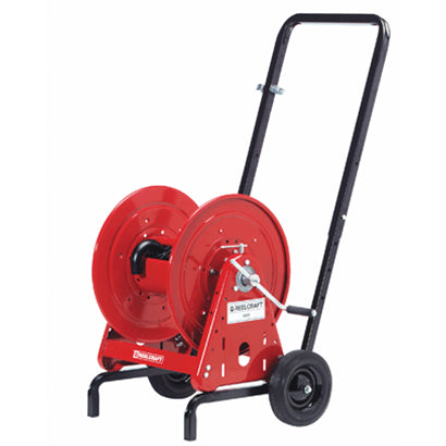 Water Hose Reel Cart - 5/8 x 200 ft Capacity - Made in USA