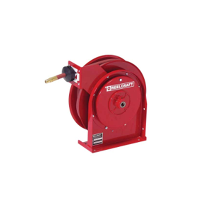 Compact Spring Driven Air Hose Reel - 1/4 x 20 ft - (hose included)