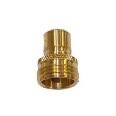 Male Brass Garden Hose Quick Connect