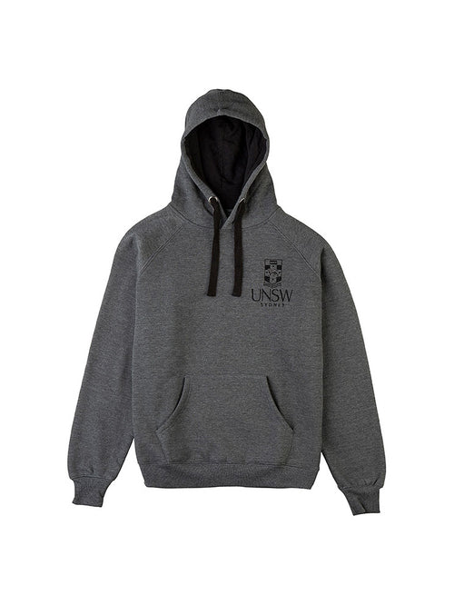 Charcoal Original Crested Hoodie