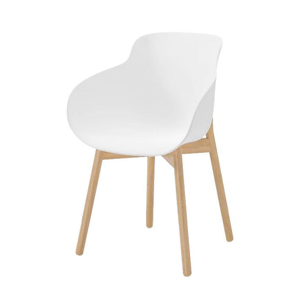 HUG Dining Chair - Wood Legs