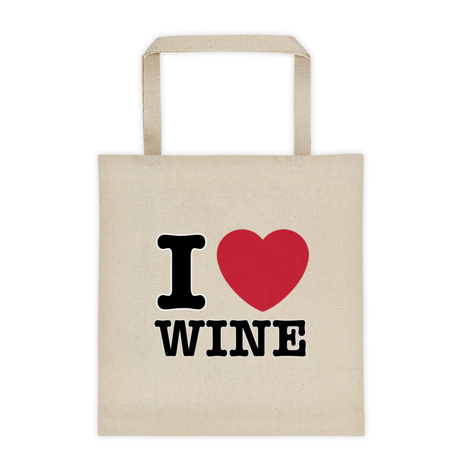 I Love Wine Tote bag