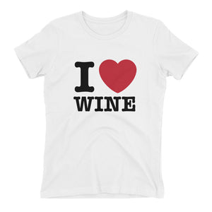 I Love Wine Women's TShirt