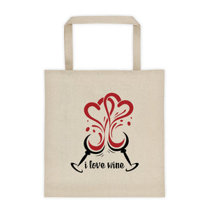 Heart Glasses Tote bag