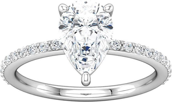 Diamond Shared Prong Ring