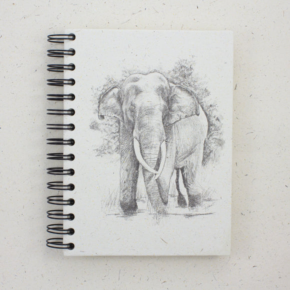 Large Notebook Tusker Sketch