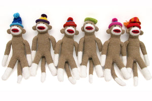 Sock Monkey with Hat