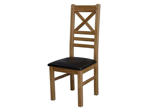 Dalton Cross Back Dining Chair