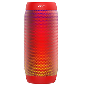 AEC BQ - 615 PRO Colorful LED Lights Wireless Bluetooth 3.0 HIFI Stereo Speaker Support NFC Microphone FM Radio TF Card Playing