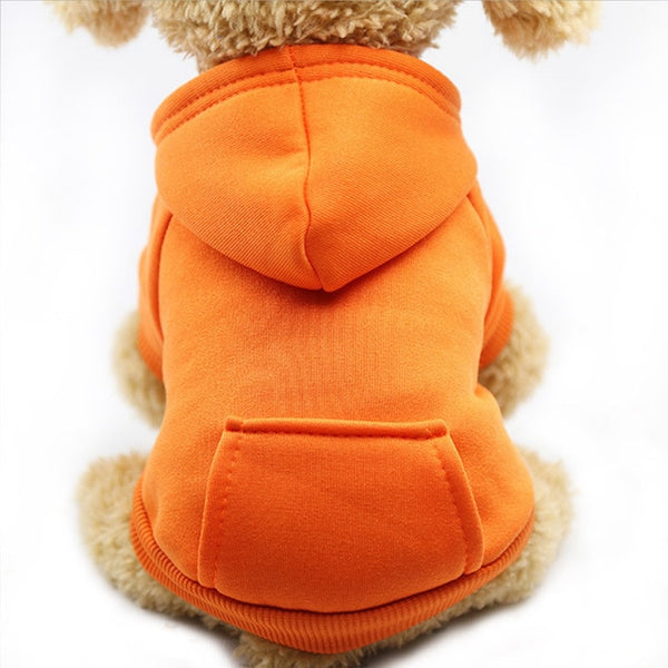 Adorable Hoodie Dog Coat - Posh Puppies Boutique