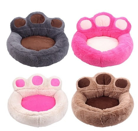 Posh Puppies Paw Print Dog Bed - Posh Puppies Boutique