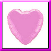"18"" Pink Heart Foil Balloon"