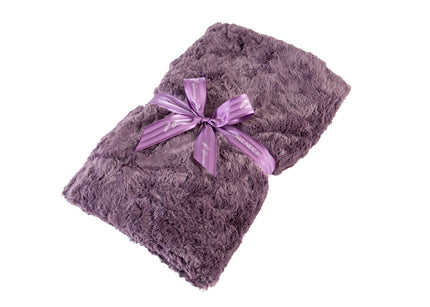 Lavender Spa Blankie in Grapemist Cuddle