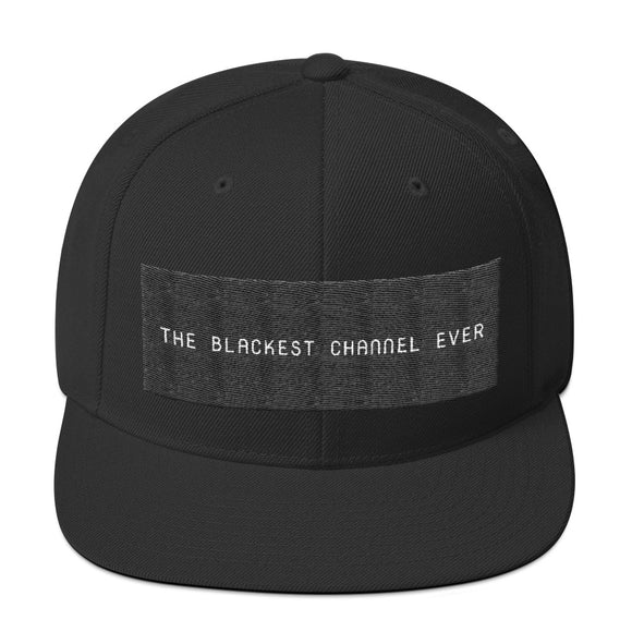 The Blackest Channel Ever Hat