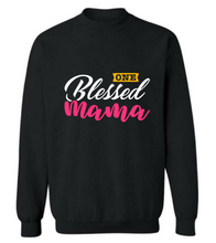 "Load image into Gallery viewer, ""Blessed MAMA"" T shirt"