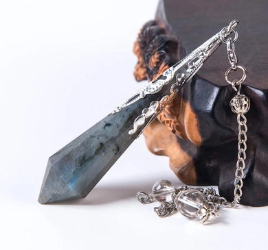 Labradorite Pendulum Necklace