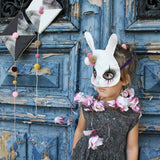 Bunny mask - clown - Dessin Design