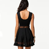 Women's Sexy Mesh Mini Dress | RnD International