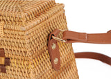 Women's Woven Rattan Shoulder Bag | RnD International