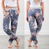 Women's Casual Harem Pant with Floral Print | RnD International