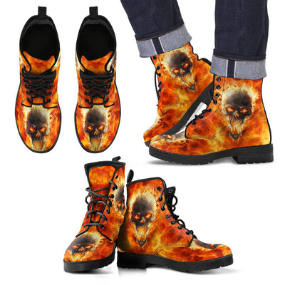 Skull From Hell Boots