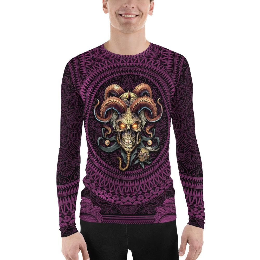 Jester Skull Rash Guard