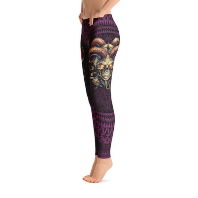 Jester Skull Leggings