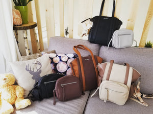 OLIVIA Diaper Bag +$80 Baby Essentials