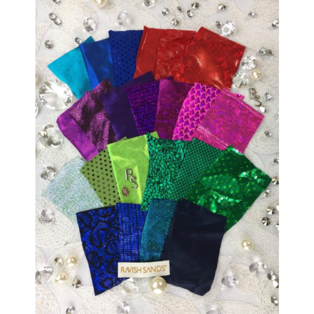 Order this to receive these Free Fabric Swatches for Competition Suit orders (Currently USA ONLY: You pay $1 shipping and handling)