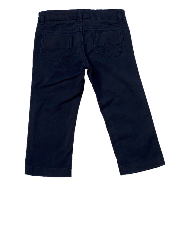 Stretch Cotton Slim 5 Pocket Jeans