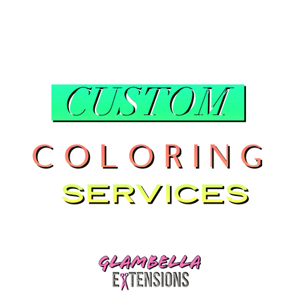 Custom Coloring Services