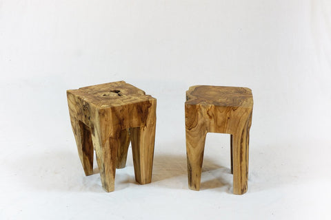Square Stump Stool