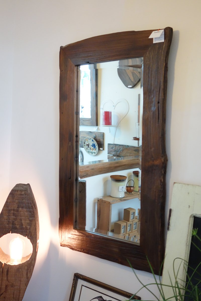 Small Reclaimed Mirror