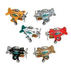 6 assorted sky sharks